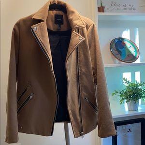 Tan winter jacket